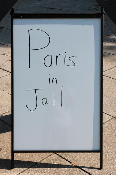 Paris in Jail, 2001-2008 Archival inkjet print 20 x 30 inches