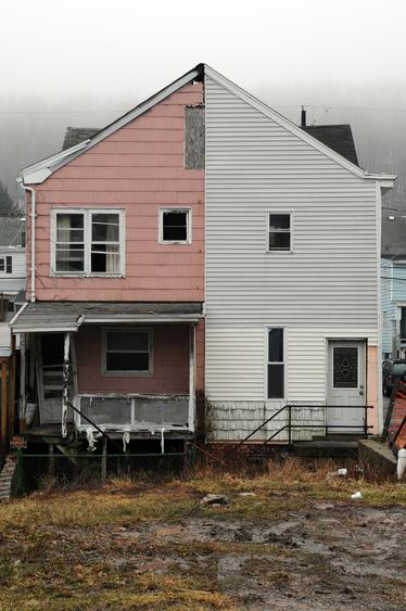 Half House Pink, 2001-2008 Archival inkjet print 20 x 30 inches
