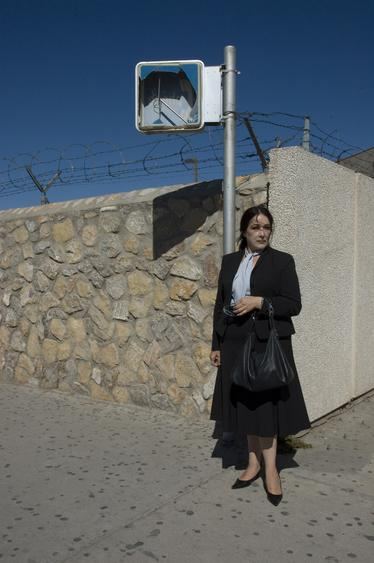 Woman at US/Mexico Border, 2001-2008 Archival inkjet print 30 x 20 inches