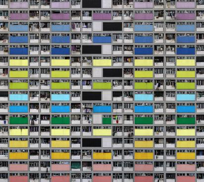 Architecture of Density #99, 2007 Chromogenic print