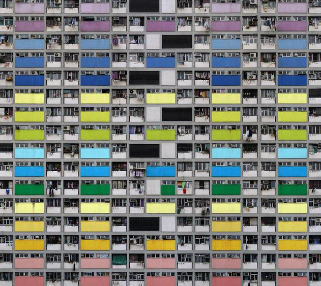 Michael Wolf, Architecture of Density #99, 2007