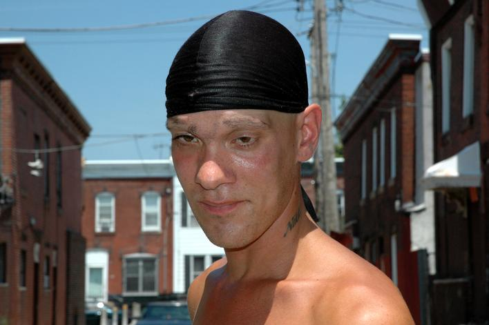 Doo Rag, 2001-2006 Archival pigment print mounted to board 22 1/2 x 34 inches