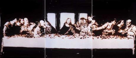 Vik Muniz Milan, the Last Supper (from Pictures of Chocolate), 1998-1999 Chromogenic prints 40 x 30 inches each
