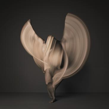 Nude #2, 2012 Archival pigment print. 43 x 43 inches