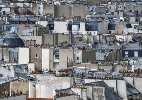 Paris Rooftops #17, 2014 Digital C-Print 48 x 68 inches