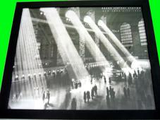 Grand Central Terminal Rays eBay, 2015 Digital c-print 9 x 12 in.
