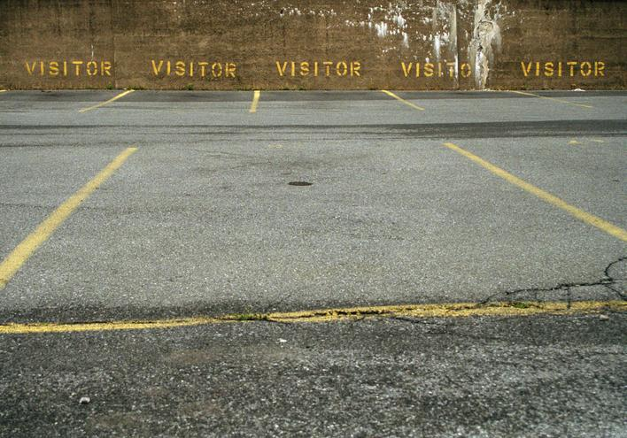 Visitors, 2001-2006 Archival pigment print mounted to board 23 1/2 x 34 inches